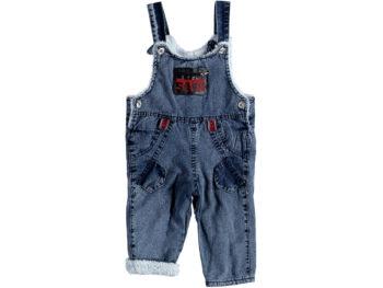 Комбинезон джинсовый на евромахре 313838